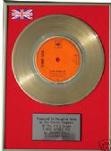 "JOHNNY CASH - 24 Carat Gold 7"" Disc - A BOY NAMED SUE"